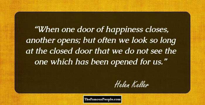 60 Famous Quotes By Hellen Keller The Author Of The Story Of My Life Amazing Pervert Quotes From Books