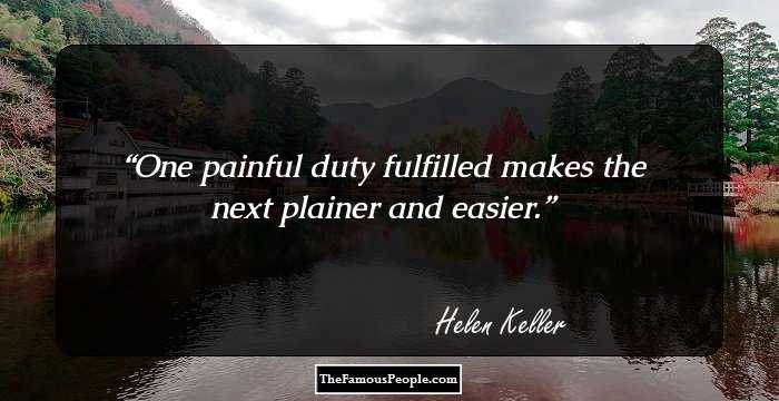 100 Famous Quotes By Hellen Keller The Author Of The Story Of My Life