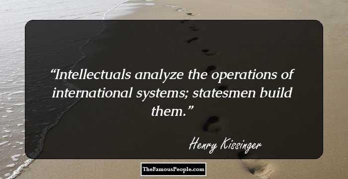 Henry Kissinger: