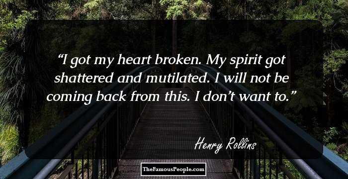 Henry Rollins Back