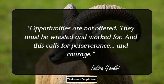 63 Inspirational Quotes By Indira Gandhi The Former Prime Minister