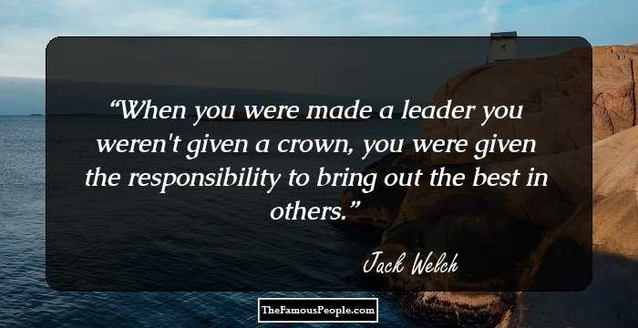 109 Top Jack Welch Quotes On Winning And Leadership
