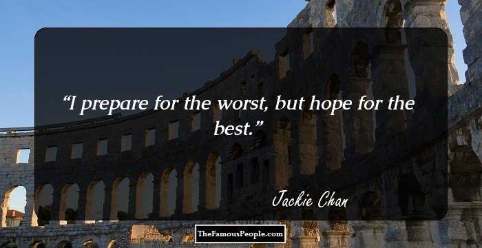 107 Thought Provoking Jackie Chan Quotes