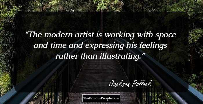 jackson pollocks biography Jackson pollock was a visual artist who hailed from america and was renowned for his unconventional painting techniques this biography provides detailed information about his childhood, profile, career and timeline.
