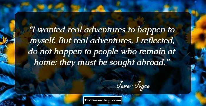 100 Top Quotes By James Joyce The Author Of Ulysses