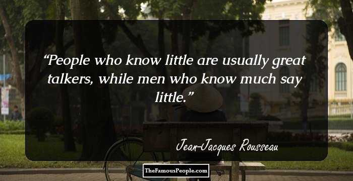98 Top Quotes By Jean Jacques Rousseau The Author Of The Social