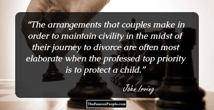 100 Mind-Blowing Quotes By John Irving On Life, Love