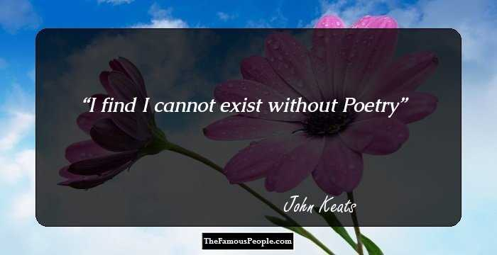 timeless quotes by john keats that will touch your heart