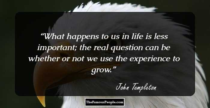 top john templeton quotes that will help you through your