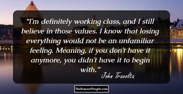 69 Famous Quotes By John Travolta That Will Make You Adore Him More