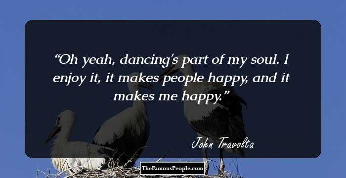 69 Famous Quotes By John Travolta That Will Make You Adore