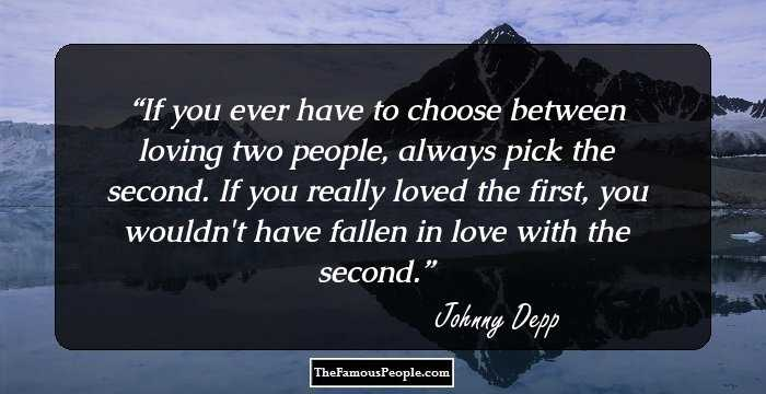 quotes about being in love with two people
