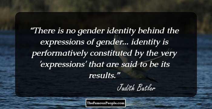 judith butler identity