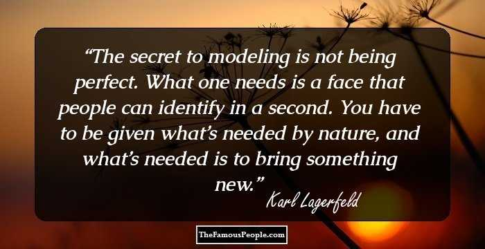 74 Famous Quotes By Karl Lagerfeld That Reflect His World View.