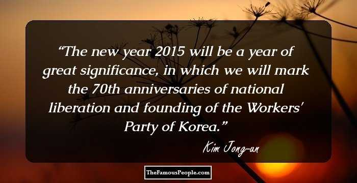 powerful quotes by kim jong un which give a glimpse of his