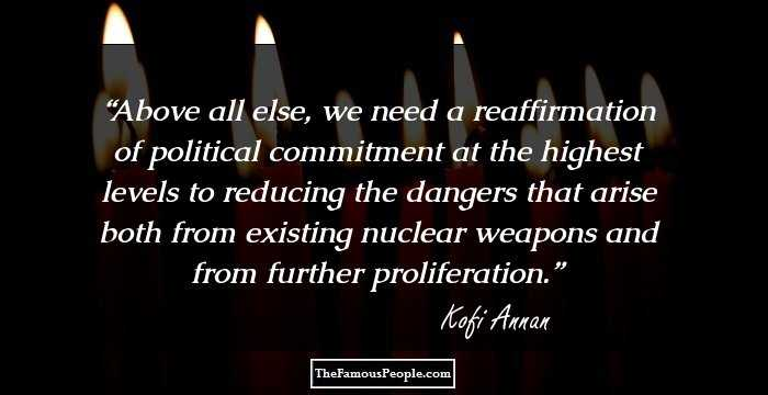 44 Thought Provoking Kofi Annan Quotes On Peace Love And