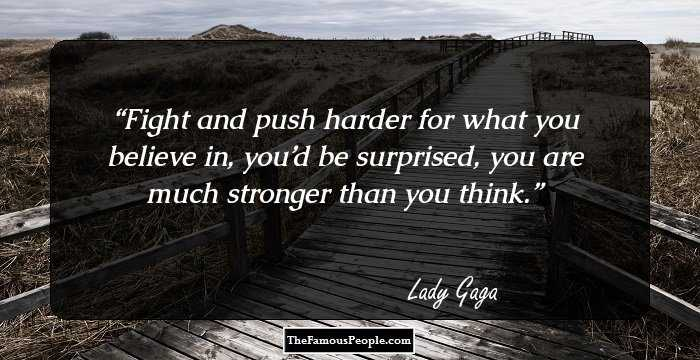 Lady Gaga Quotes (100 wallpapers) - Quotefancy | Like Success