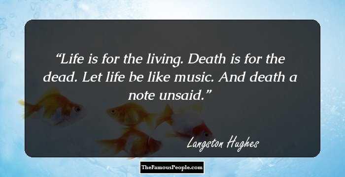 Langston Hughes's Life Influences