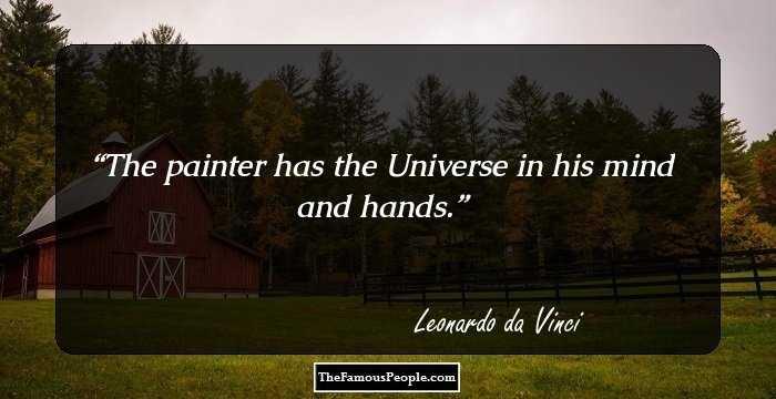 98 Memorable Quotes By Leonardo Da Vinci That Will Leave A Lasting
