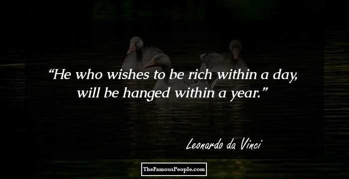 98 Memorable Quotes By Leonardo Da Vinci That Will Leave A