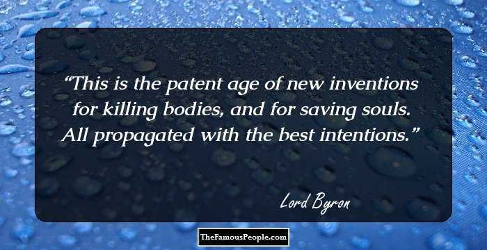 127 Lord Byron Quotes That You Are Sure To Fall For