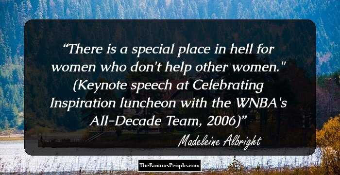 112 Top Madeleine Albright Quotes You May Need In Your Life