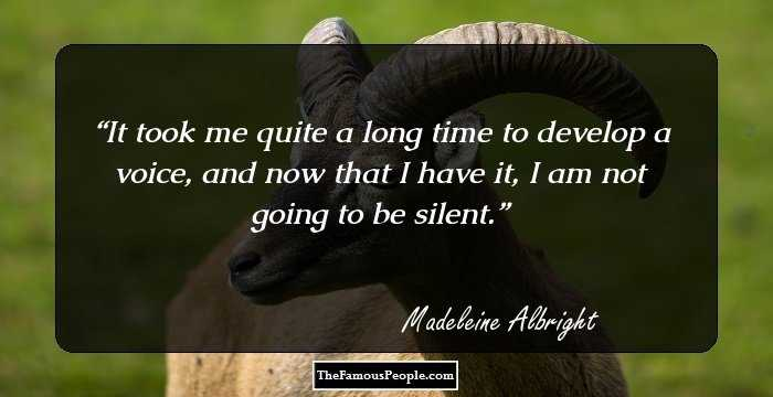 Madeleine Albright Quotes   112 Top Madeleine Albright Quotes You May Need In Your Life
