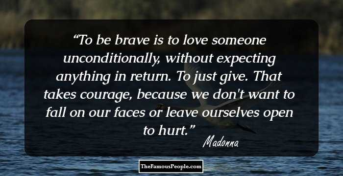 Return To Love Quotes Cool 45 Great Quotesmadonna That Encourage You To Be Original