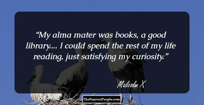 a reaction on malcolm xs life and works And start work as a shoeshine see the events in life of malcolm x in.