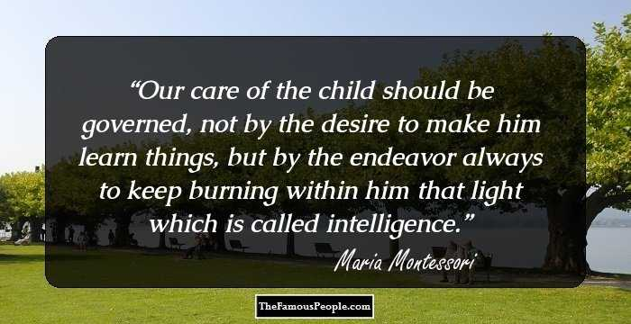 people who influenced maria montessori Many people, however, were influenced by the amazing teaching approach that was introduced by maria montessori and in the 1960s the method was reborn in the us the arrival and departure of montessori.