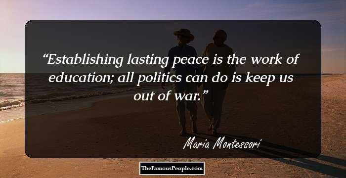 28 Great Maria Montessori Quotes That Still Hold True