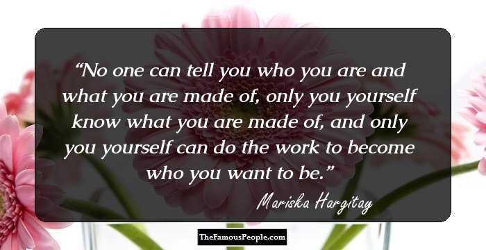 97 Memorable Quotes By Mariska Hargitay On Life Love Power