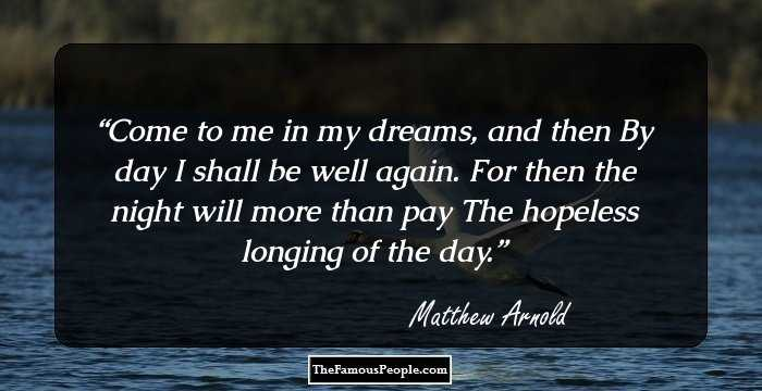 timeless quotes by matthew arnold