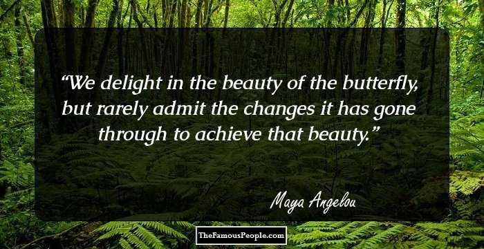 76 Inspirational Quotes By Maya Angelou That Will Lift Your Spirits