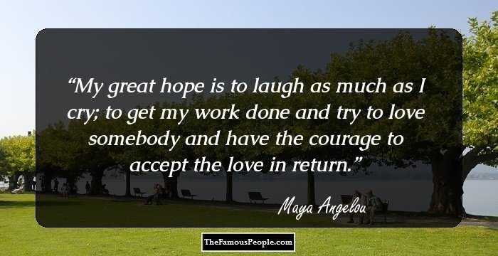 76 Inspirational Quotes By Maya Angelou That Will Lift Your ...