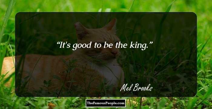 19 Motivational Quotes By Mel Brooks Which Are Sure To Uplift Your