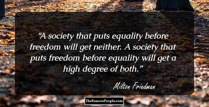 Milton Friedman Biography Facts Childhood Family Life