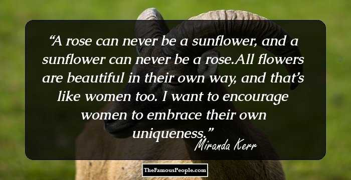 77 Inspiring Miranda Kerr Quotes Every Woman Should Know