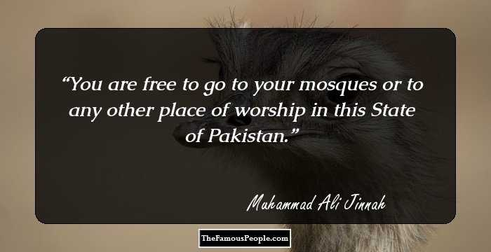 66 Famous Quotes By Muhammad Ali Jinnah, The Founder Of Pakistan