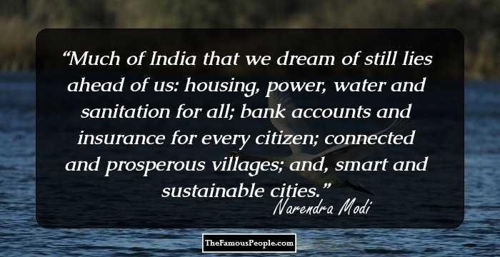 105 Powerful Quotes From Narendra Modi To Fire You Up