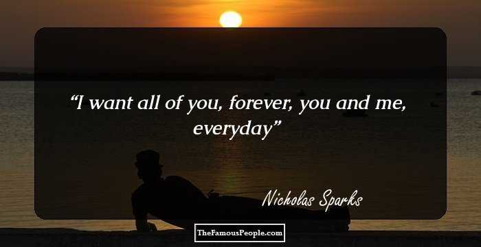 76 Greatest Nicholas Sparks Quotes To Remember