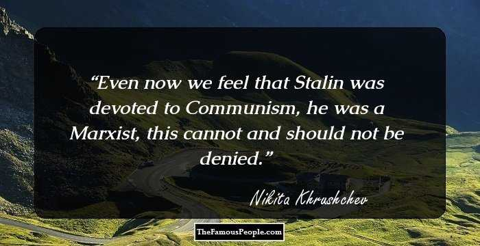 34 Nikita Khrushchev Quotes That You Must Know