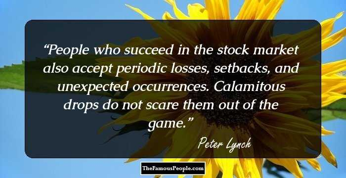 quotes by peter lynch for your perfect financial planning