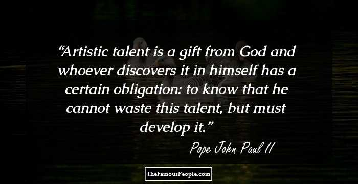 61 Motivational Quotes By Pope John Paul Ii That Will Help You Face