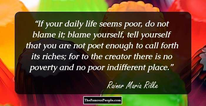 100 Enlightening Quotes by Rainer Maria Rilke, The Author of Letters