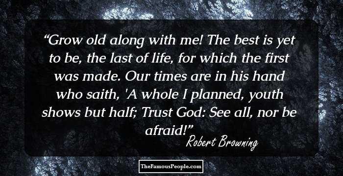 robert browning life and work