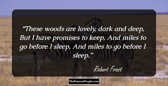 100 Awesome Quotes By Robert Frost To Make Your Day