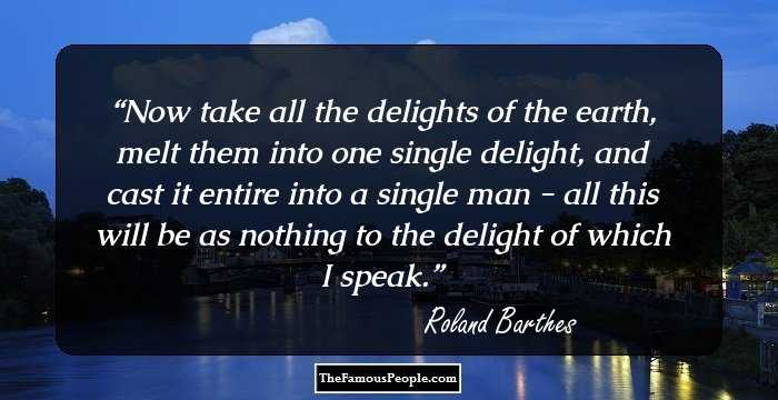 86 Inspirational Quotes By Roland Barthes That Will Touch