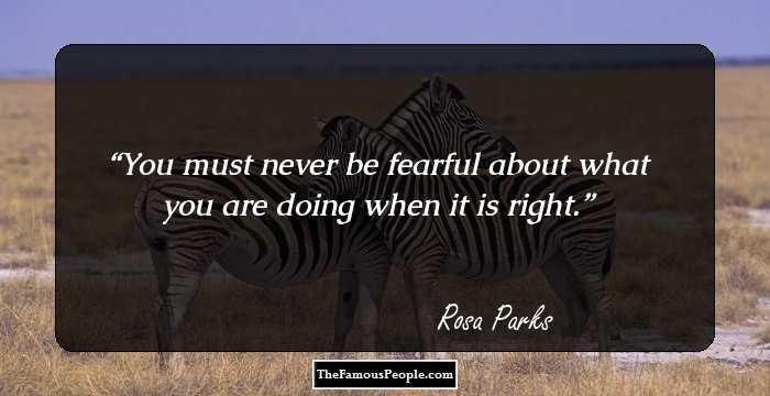 60 Motivational Quotes By Rosa Parks That Will Inspire You To Stand Classy Rosa Parks Quotes