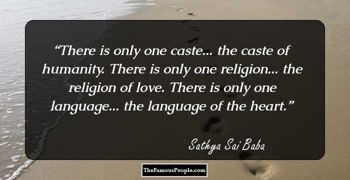 sri sathya sai baba quotes for a positive mind
